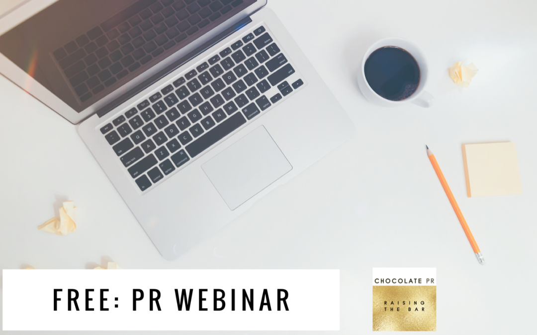 "6 Steps to the Press Saying ""YES!"" – FREE PR WEBINAR"