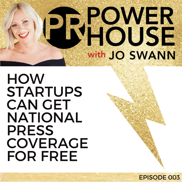 003 How Startups Can Get National Press Coverage for Free