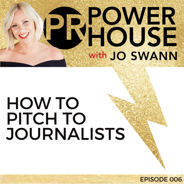 006 How to Pitch to Journalists