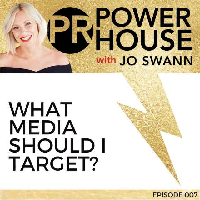 007 What Media Should I Target?