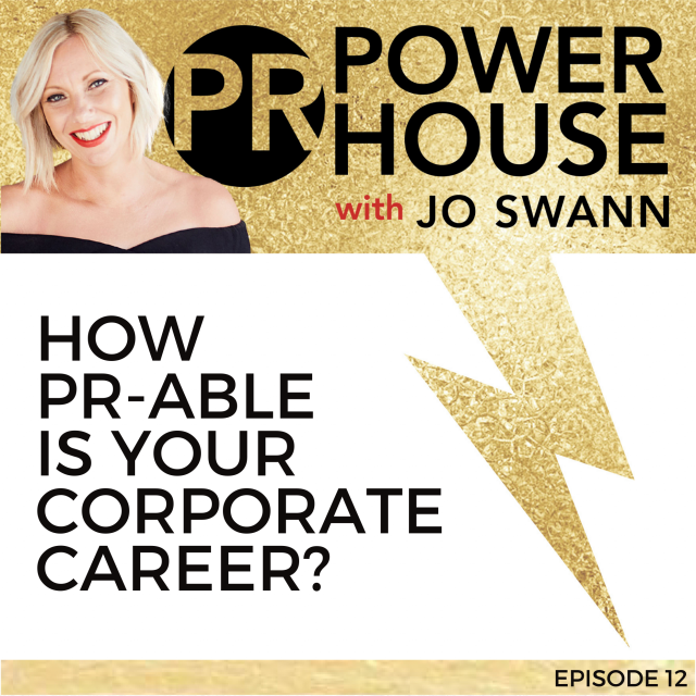 012 How PR-able Is Your Corporate Career?