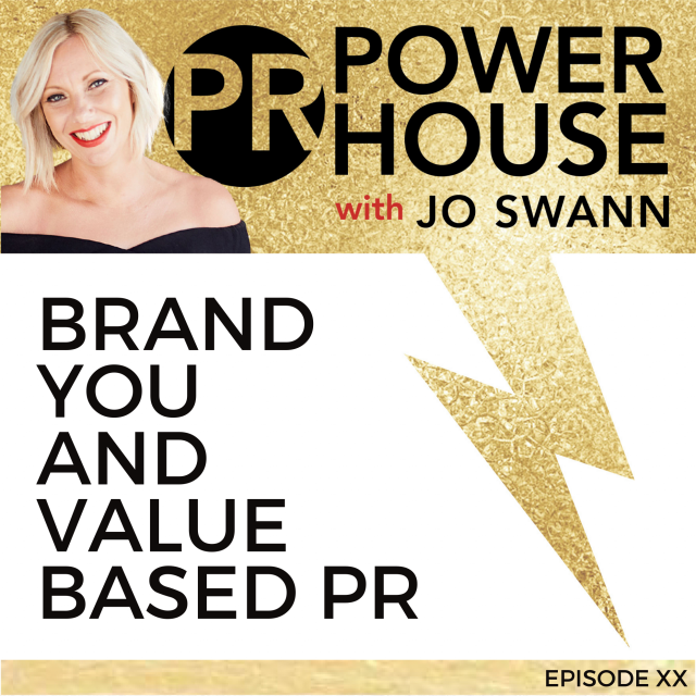 013 Brand You And Value Based PR